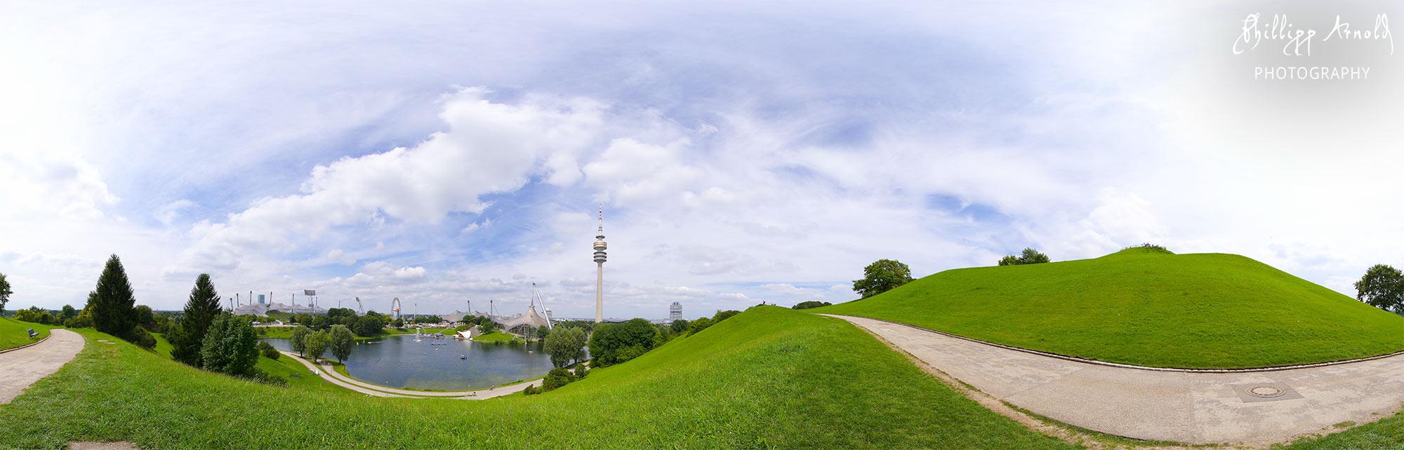 "Panorama ""Olympiapark"" München"